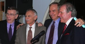 Jim Fosshage    Clem Loew    Henry Grayson    Ken Frank                                                        FOUNDERS of National Institute for the Psychotherapies